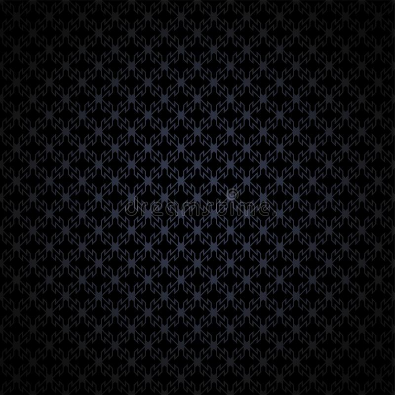 Abstract elegant in dark gray, black background with geometric texture. Pattern, with darkened edges. EPS 10 vector illustration vector illustration