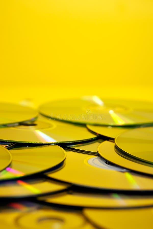 cds堆 库存图片