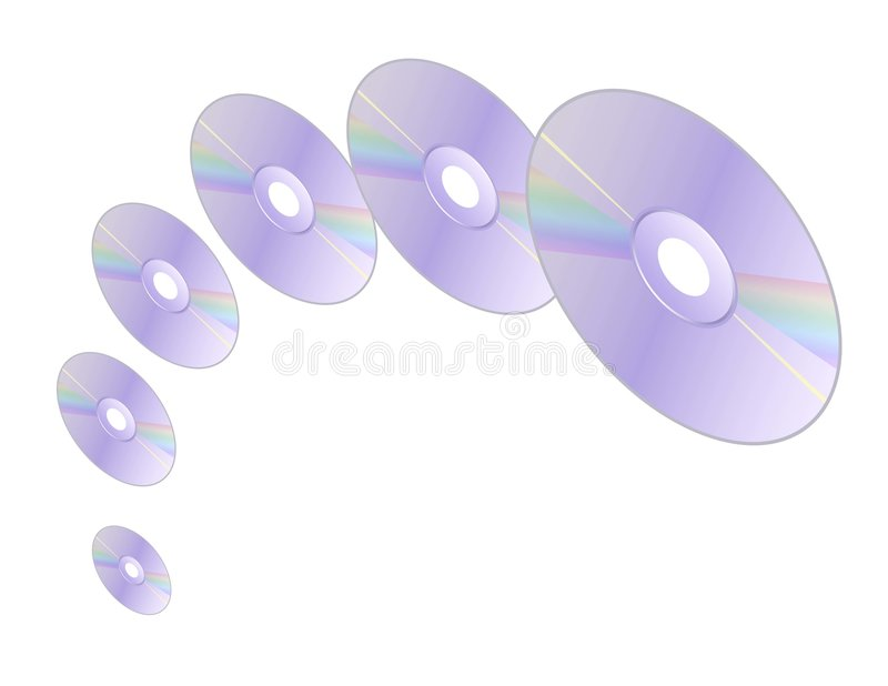 cds空转 向量例证