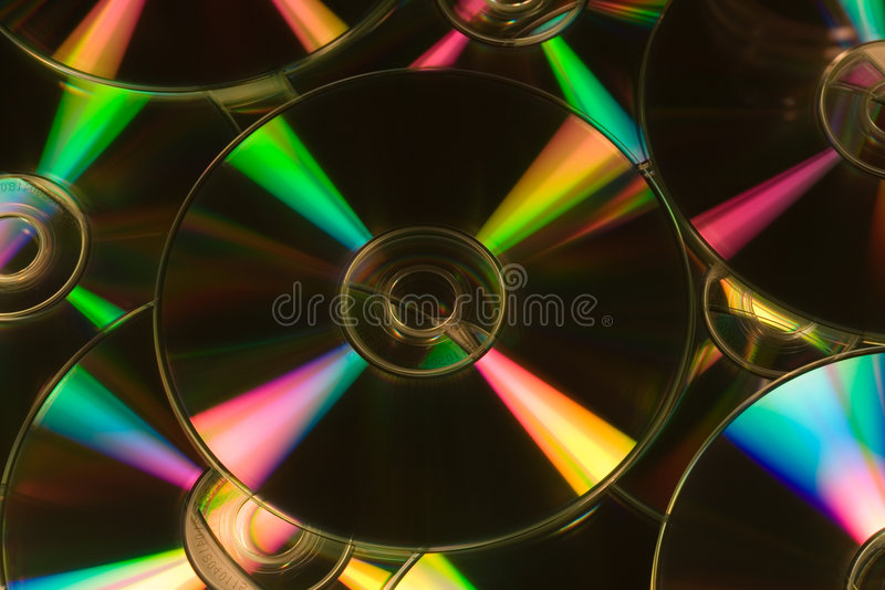 CDs stock image