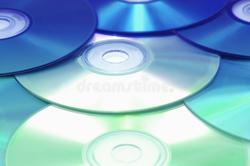 CDs royalty free stock images