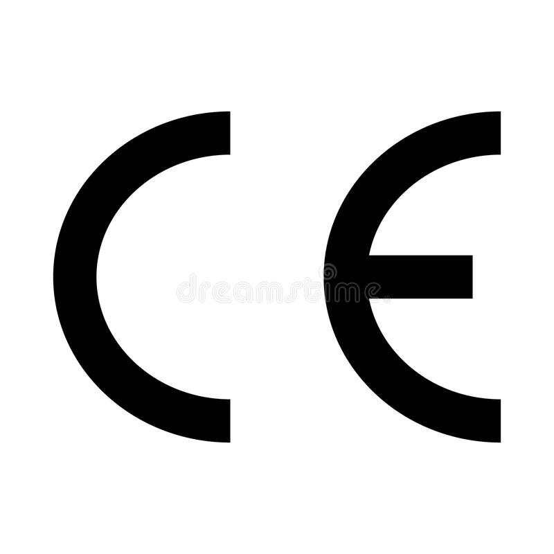 Ce Marking Icon Sign Ce Mark Symbol Editorial Stock Image