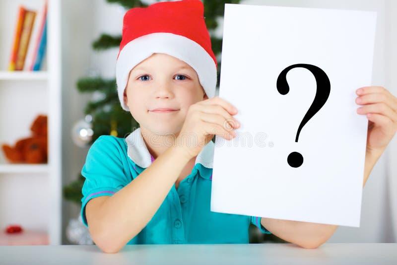Ce qui à acheter pour Noël ? image libre de droits