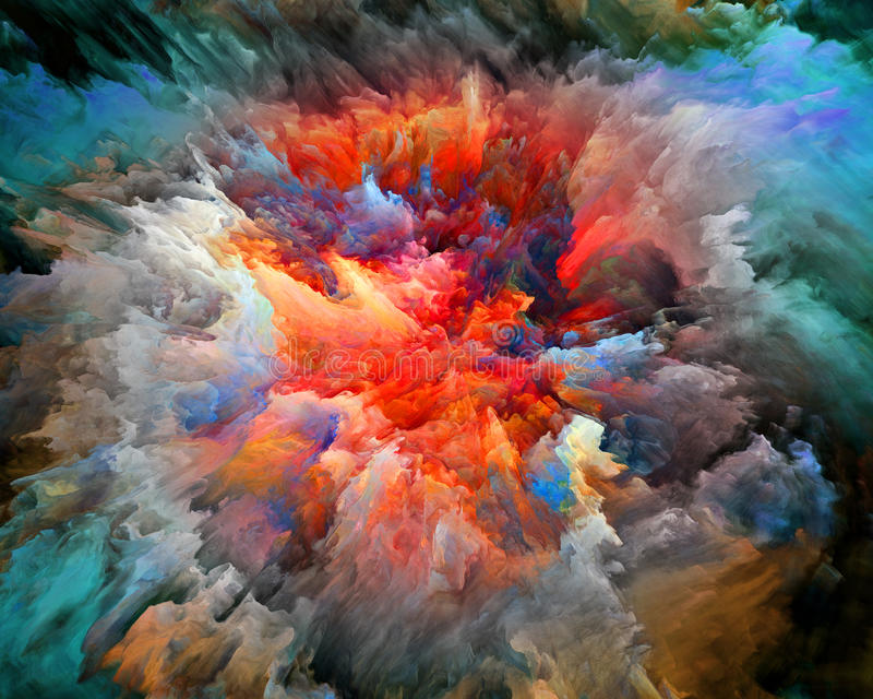 Ce qui colore peut venir illustration de vecteur
