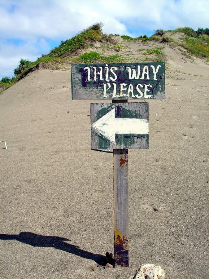 Ce signe de voie photo libre de droits