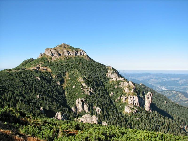 Ceahlau Landschaft lizenzfreie stockbilder