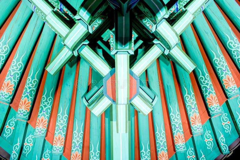 Cealing design. Tradional art cealing in korea royalty free stock image