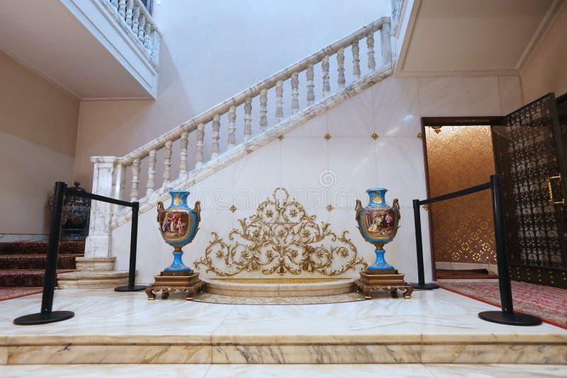 CEAUSESCU FAMILIEhuis - PRIMAVERII-PALEISmuseum royalty-vrije stock fotografie