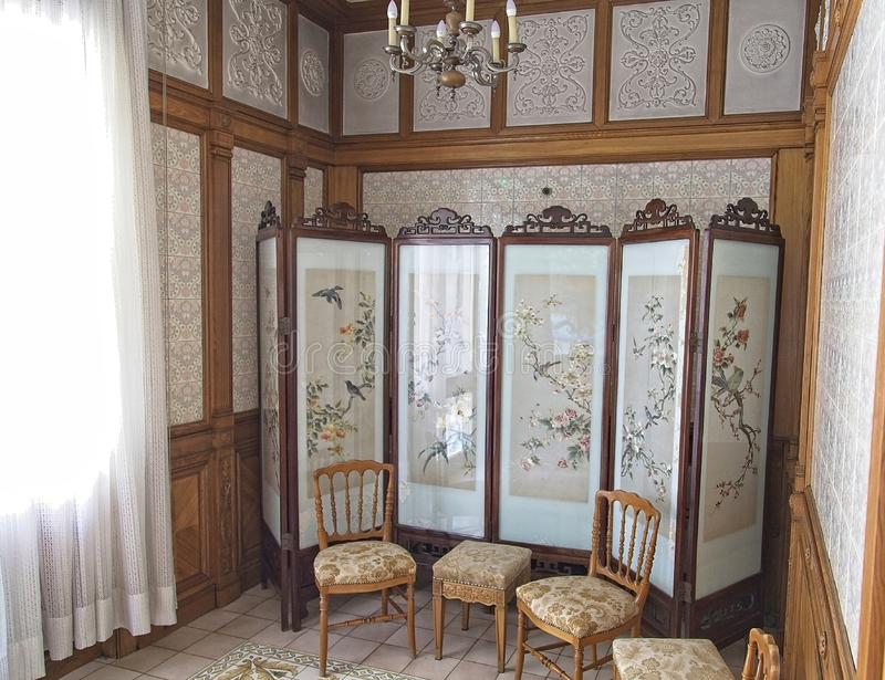 Ceausescu pałac odmieniania pokój obrazy royalty free