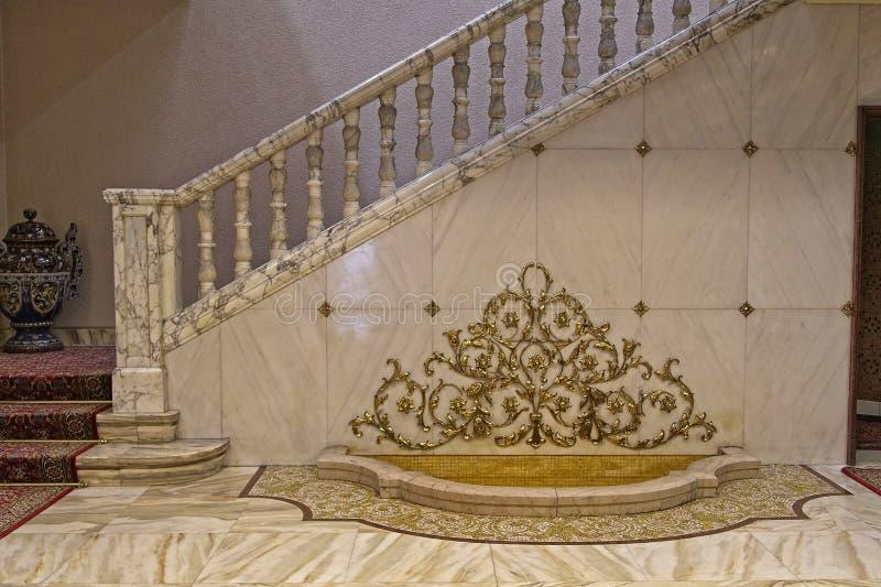 Ceausescu pałac wejście obraz stock