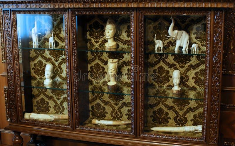 CEAUSESCU rodziny dom - PRIMAVERII pałac muzeum fotografia stock
