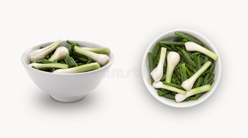 Cebolas frescas foto de stock royalty free