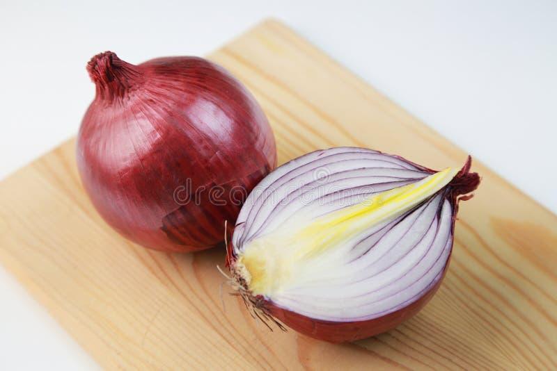 Cebolla roja foto de archivo