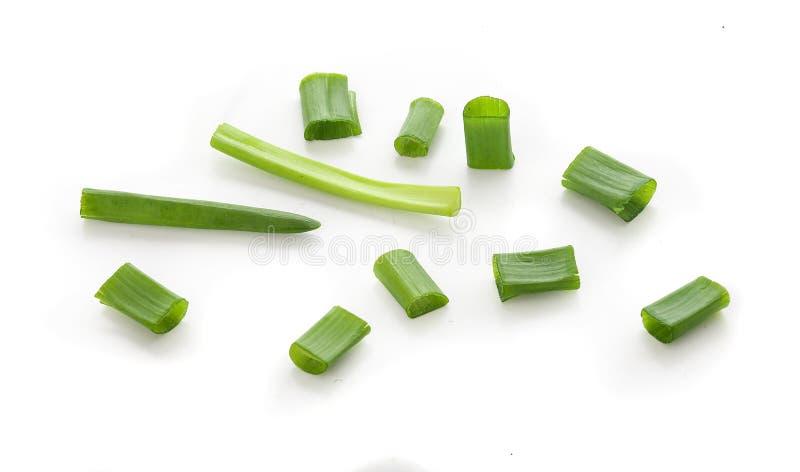 Cebolla verde fresca foto de archivo