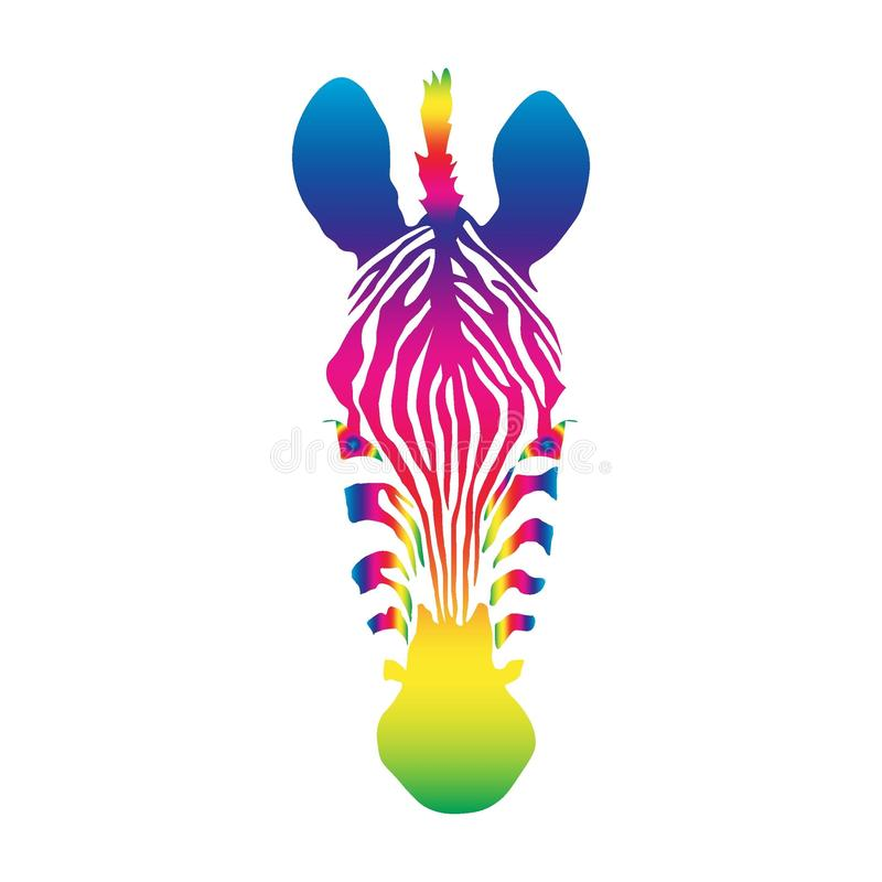 Cebra libre illustration