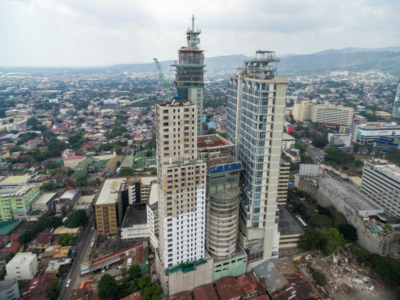 Cebu City Cityscape. Province of the Philippines located in the Central Visayas stock photo