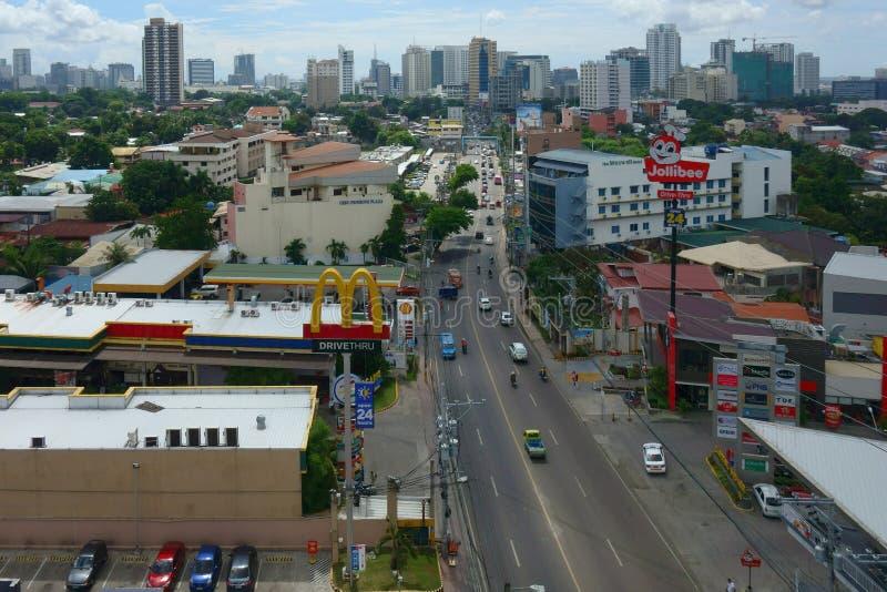 Cebu city stock image