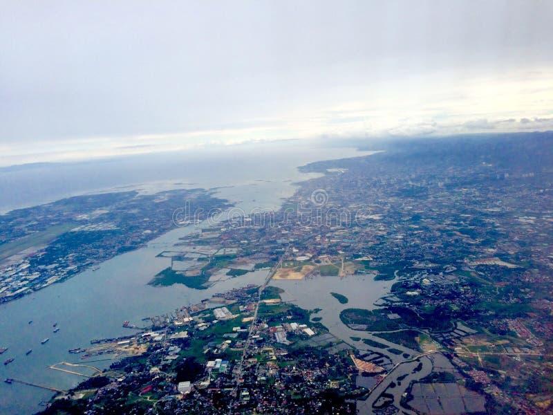 Cebu metropolis royaltyfri foto