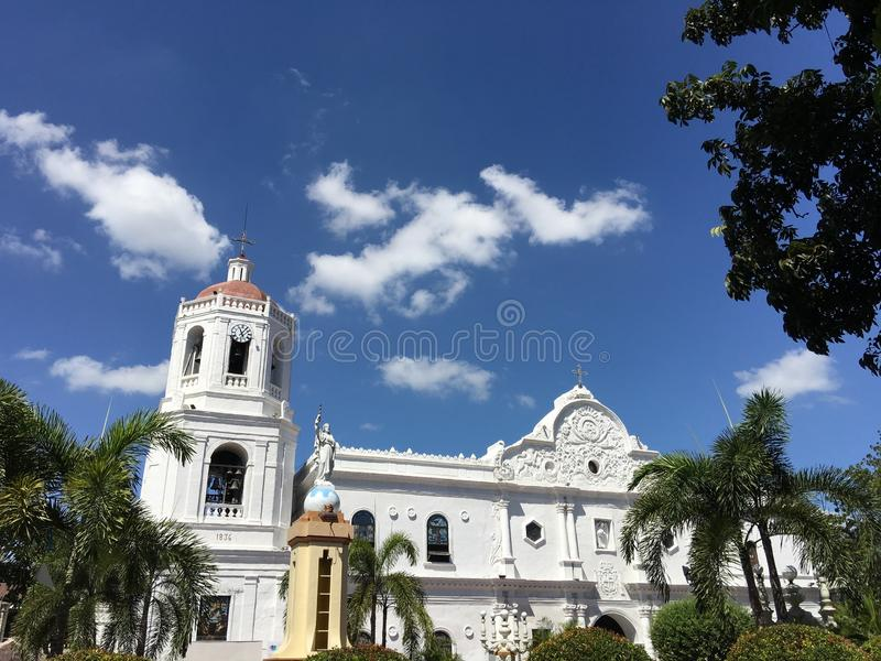 Cebu Metropolitan Cathedral stock photos