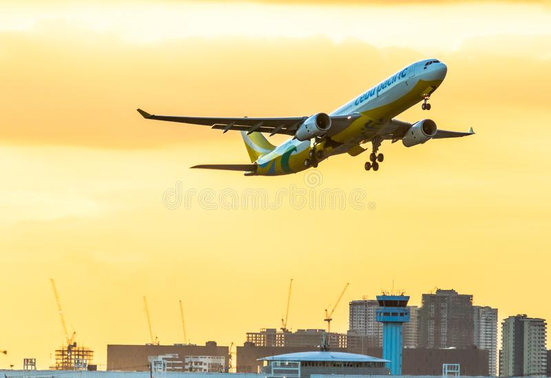 Cebu Pacific Airlines image stock