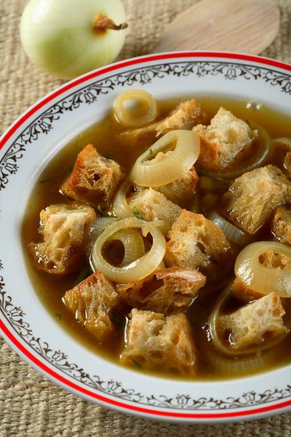 cebula chlebowa złóż zupy obraz royalty free