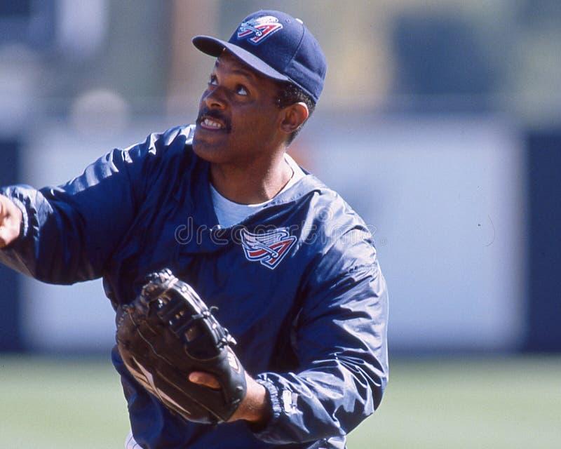 Cecil fielder Anaheim aniołowie obraz stock
