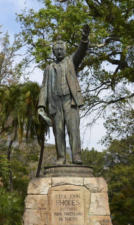Cecil Rhodes royalty free stock photography