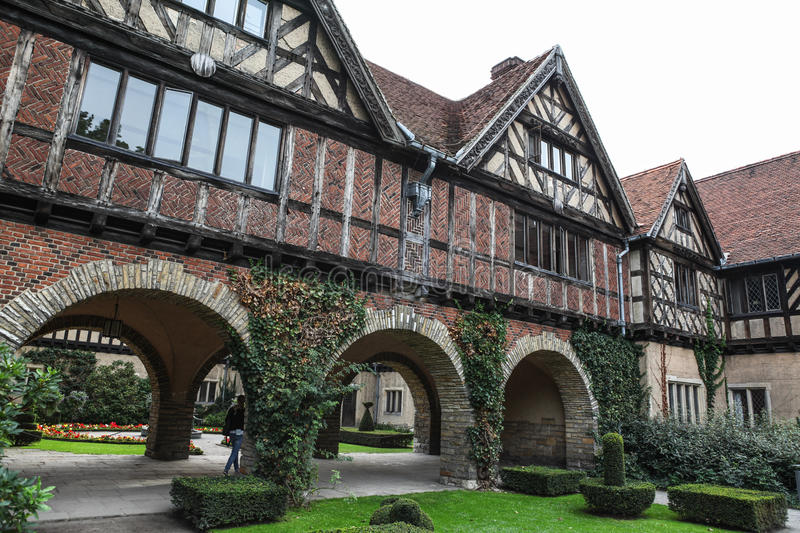 Cecilienhof Palace in Potsdam royalty free stock images