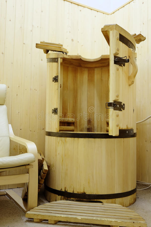 Cedar barrel royalty free stock photos