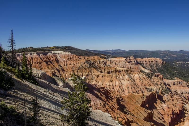 Cedar Breaks National Monument fotografie stock