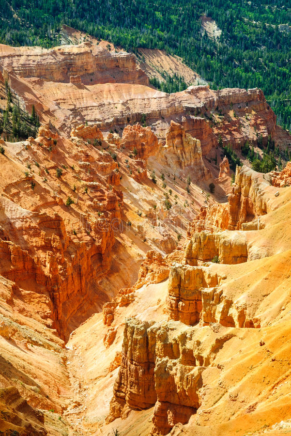 Cedar Breaks National Monument immagini stock