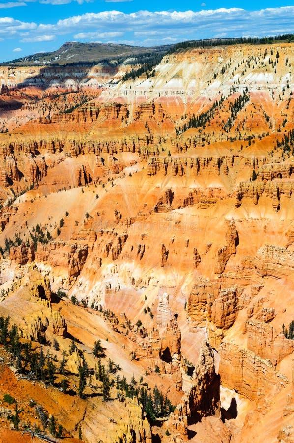 Cedar Breaks National Monument immagine stock