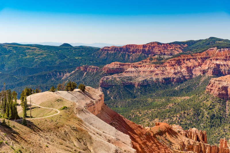 Cedar Breaks National Monument en Utah imágenes de archivo libres de regalías
