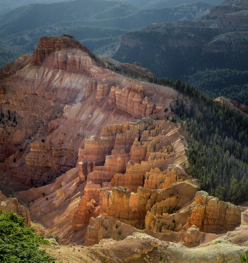 Cedar Breaks National Monument images libres de droits