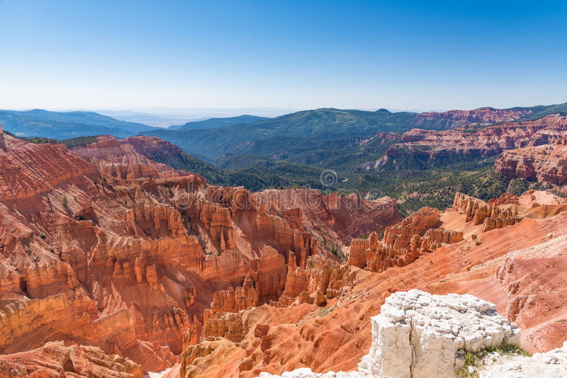 Cedar Breaks National Monument in Utah royalty free stock photos