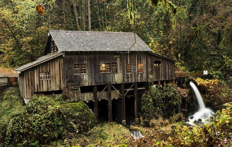 Cedar Creek Grist Mill, 1876 immagini stock