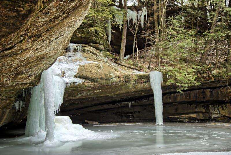 Cedar Falls royalty free stock photos