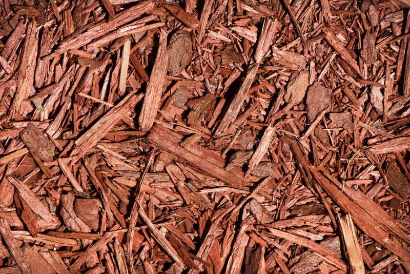 Cedar Mulch rojo imagenes de archivo
