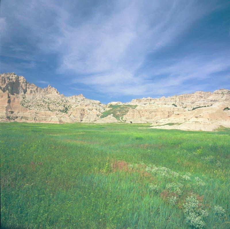 Cedar Pass Area - parque nacional do ermo fotografia de stock