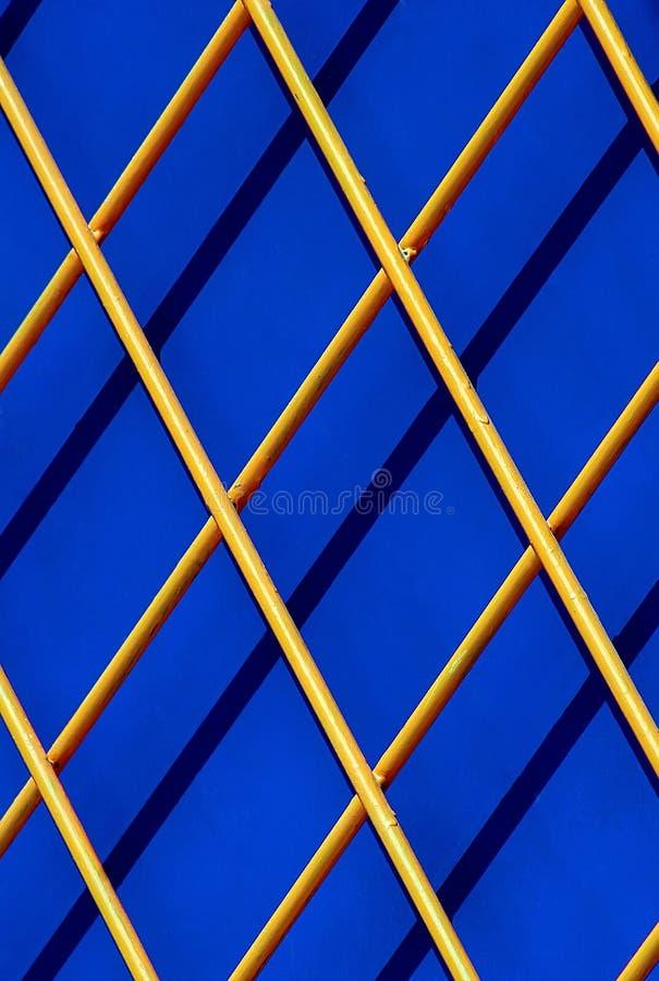 Cedazo de madera diagonal foto de archivo