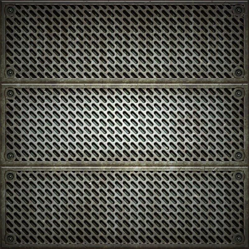 Cedazo. Textura del metal fotografía de archivo libre de regalías