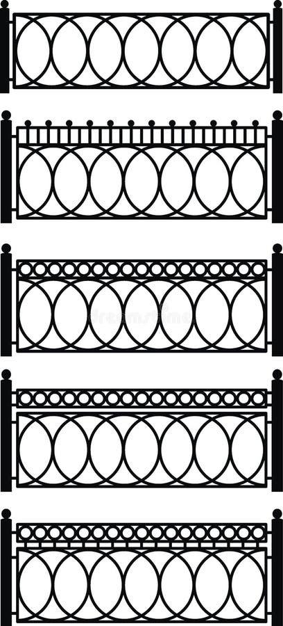 Cedazos del metal stock de ilustración
