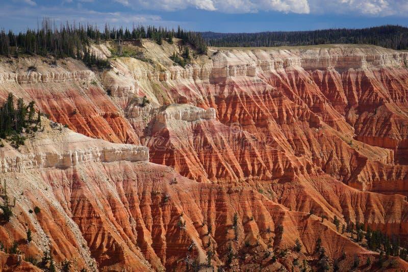 Cedr Łama Krajowego zabytek Utah zdjęcia stock