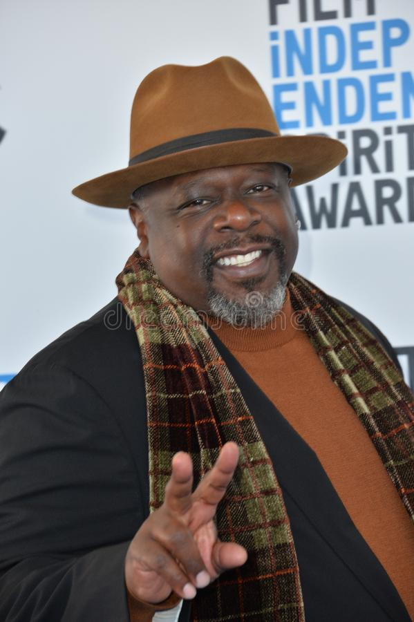 Cedric de Entertainer stock foto