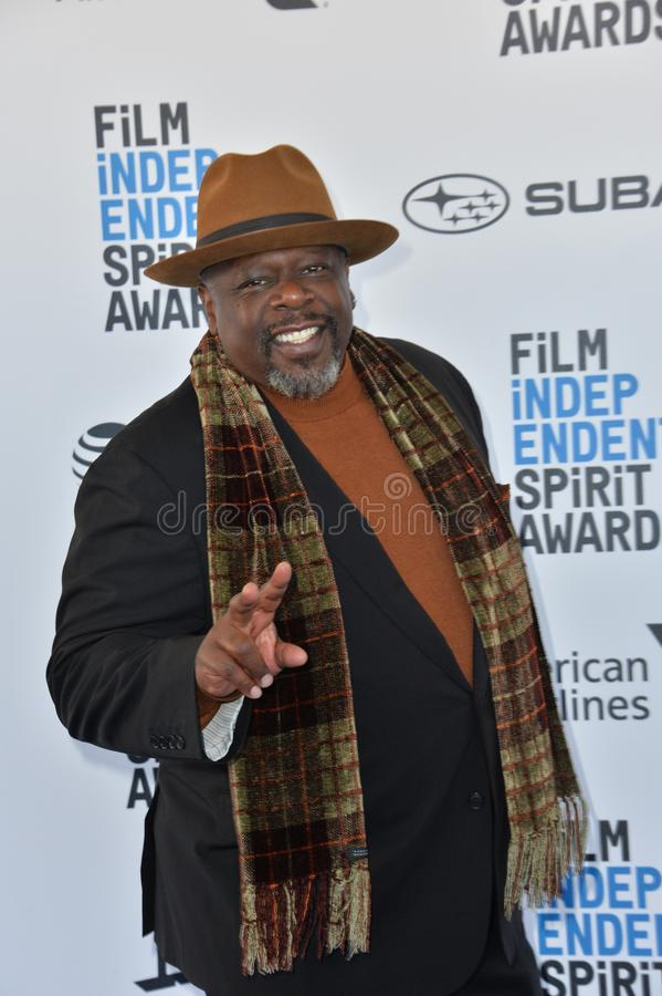 Cedric de Entertainer stock foto's
