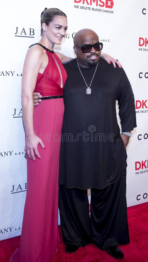 Manhattan, New York City, May 2, 2018, Cipriani on Wall Street: DKMS Love Gala royalty free stock image