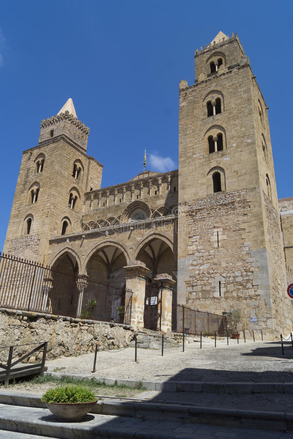 Cefalu大教堂 库存图片