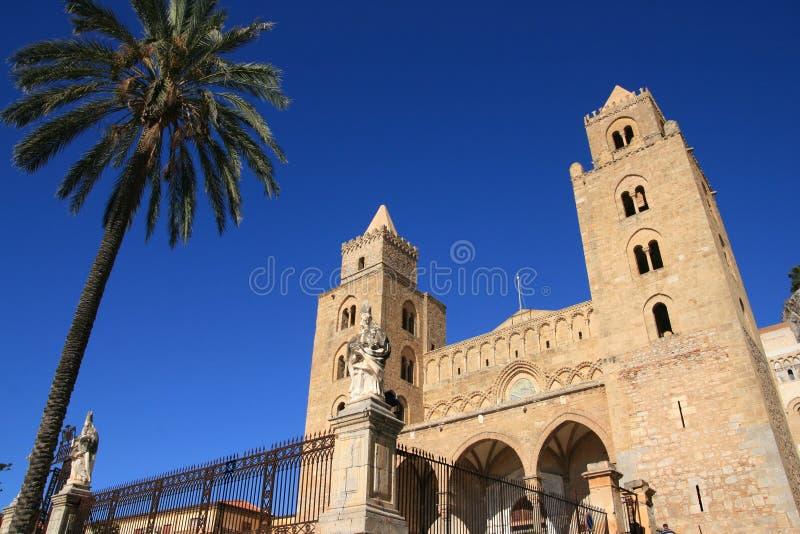 cefalu Σικελία καθεδρικών ναών στοκ φωτογραφίες με δικαίωμα ελεύθερης χρήσης