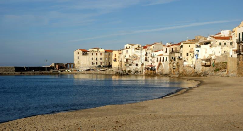 Cefalu - Сицилия стоковые фотографии rf