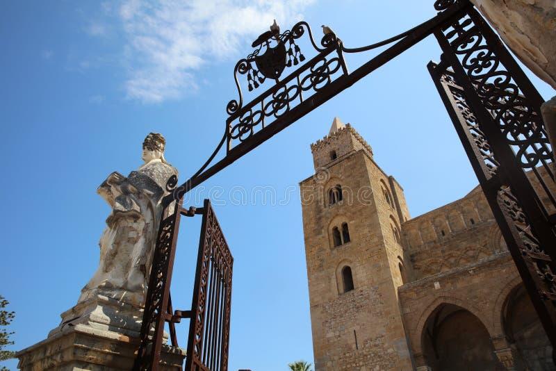 Cefalu Katedra zdjęcia royalty free